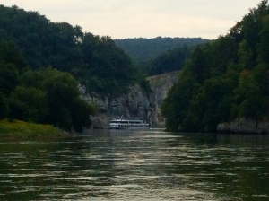 Narrowest & deepest point on Danube