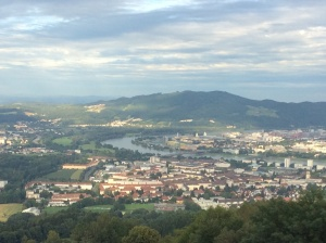Overview of Linz area