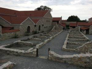 Carnuntum: old Roman city in very eastern Austria on way to Bratislava