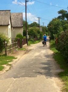 """Best"" road in rural Hungary"