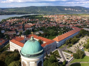 View from cupola of Esztergom basilica