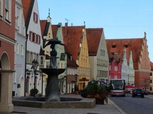 A very pretty town
