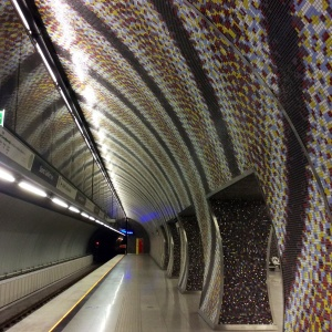 Why can't we have subway stations like this?