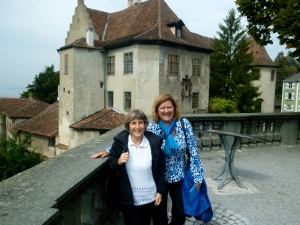 Renate & Michaela in Meersburg