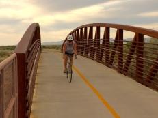 Tucson river path