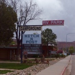 old-style RV park