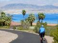 Cycling at Lake Mead